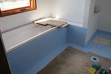 bathroom floor waterproofing