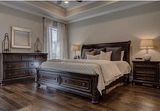 clean bedroom